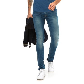 Nickel - Jean slim - denim azul