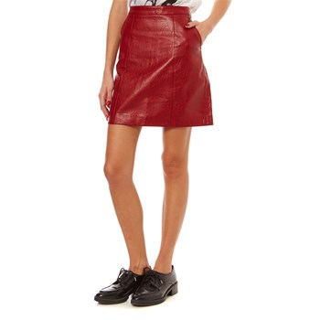 Pepe Jeans London - Berta - Falda recta - rojo
