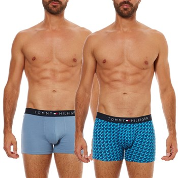 Tommy Hilfiger Underwear Men - Lot 3 boxers - bleu