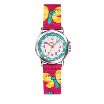 Trendy Kiddy - Montre avec bracelet en nylon - rose