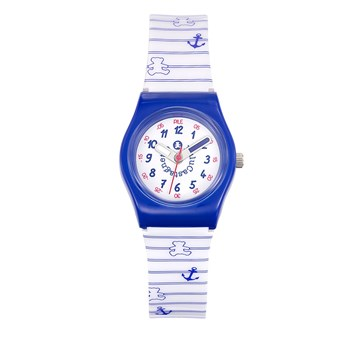 Lulu Castagnette - Pop Kid - Montre analogique - blanc