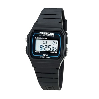 Freegun - Vintage - Montre digitale - noir