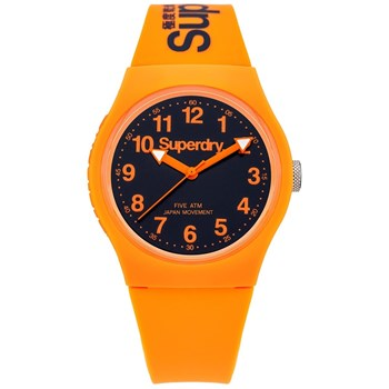 Urban - Montre avec bracelet en silicone - orange