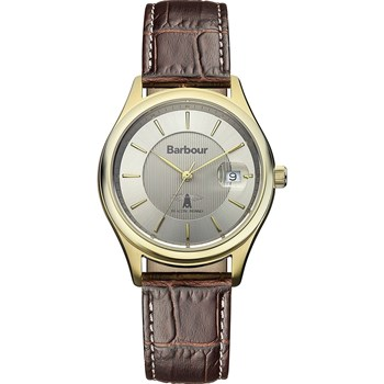 Barbour - Heaton - Montre avec bracelet en cuir - marron