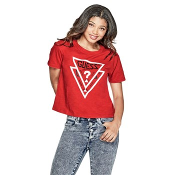 Guess - T-shirt - rouge