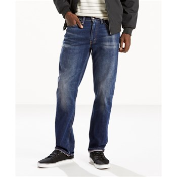 514 straight fit stretch jeans - Jean droit - bleu brut