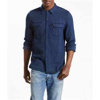 Jackson worker shirt - Chemise casual - jeansblau