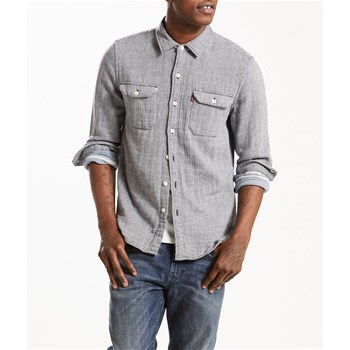 Jackson worker - Chemise casual - gris