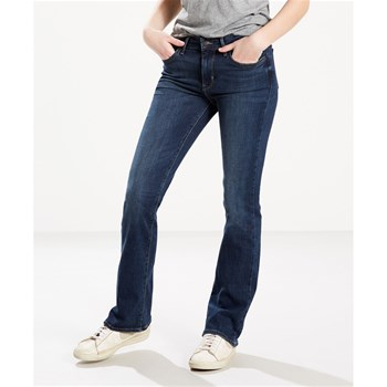 715 bootcut heart of glass - Jeans mit Bootcut - jeansblau
