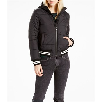 Stefania Poly Puffer Jacket - Sweat-shirt Jacke - schwarz