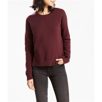 Levi's - Sporty Sweater - Sweat-shirt - prune