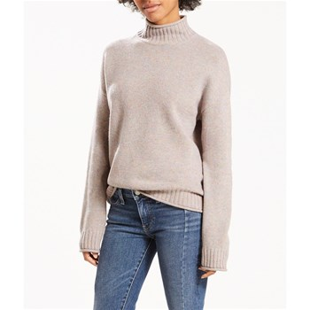 Roll Finish Turtleneck - Wollpullover - pastell