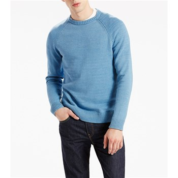 Hayes Crewneck Sweater - Pullover - jeansblau