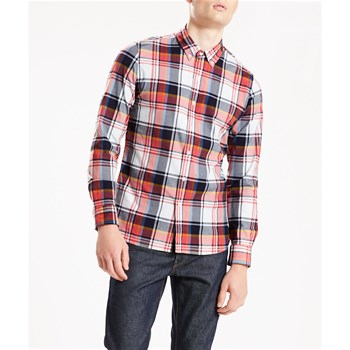 Pacific No Pocket Shirt - Chemise Bucheron - cerise