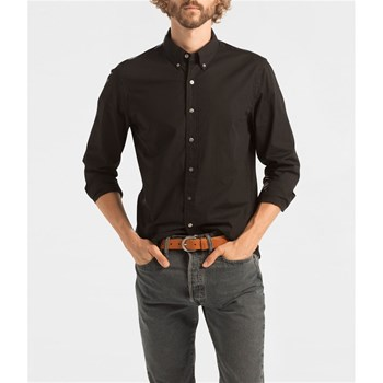 Pacific No Pocket Shirt - Chemise casual - noir