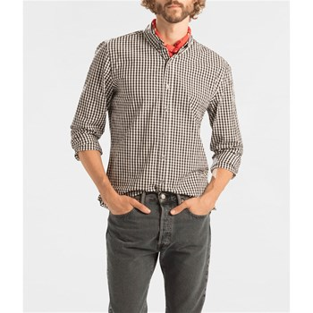 Pacific No Pocket Shirt - Camicia a maniche lunghe - marrone