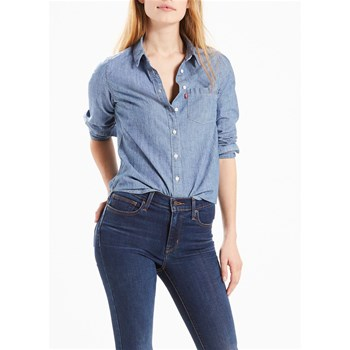 Modern one pocket - Camicetta - blu jeans