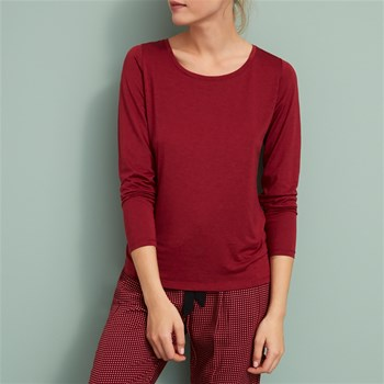 Latte - T-shirt - rouge