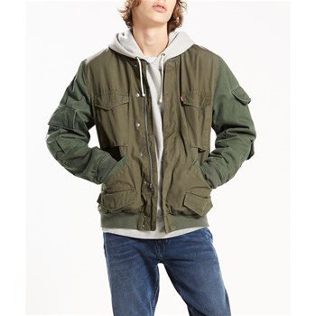 Pieced bomber - Bombers - olive