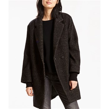 Carina Coat - Casual Mantel - schwarz