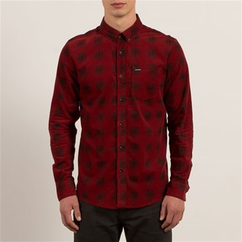 Maxwell - Chemise casual - rouge