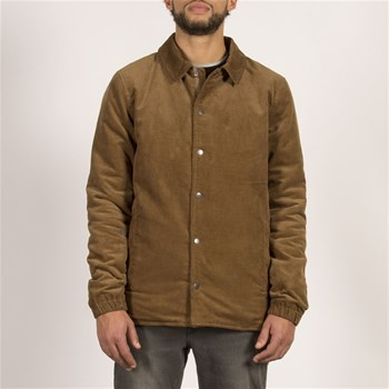 Along the line - Veste 51% laine - marron