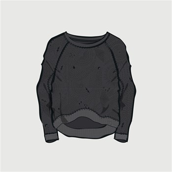 Space Trip - Sweat-shirt - noir