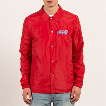 Brews Coach - Veste coupe-vent - rouge