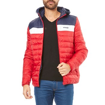 PUFFER - Doudoune courte - rouge