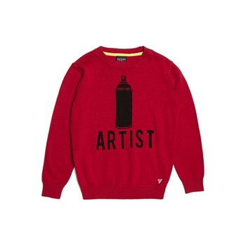 Sweat-shirt - rouge