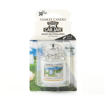 Yankee Candle - Ultimate - Parfums pour voiture - blanc
