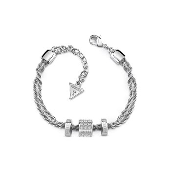Guess - G Colors - Bracelet multi-rangs - argenté