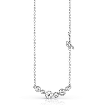 Guess - Cry beauty - Collier chaine - argenté