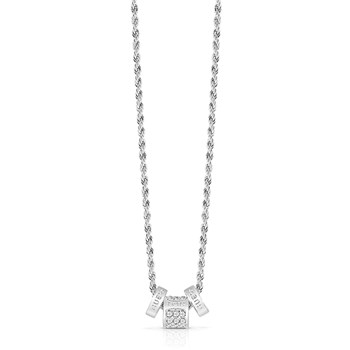 Guess - G Colors - Collier chaine - argenté