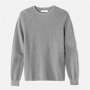 T-shirt manches longues - gris chine