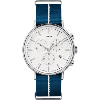 The Fairfield - Montre avec bracelet en nylon - bleu