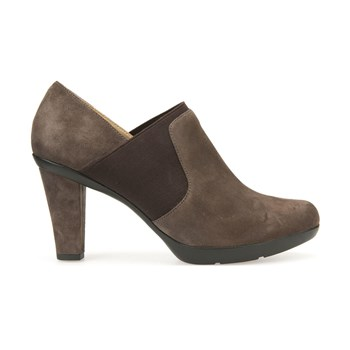 Inspiration - Boots en cuir - taupe