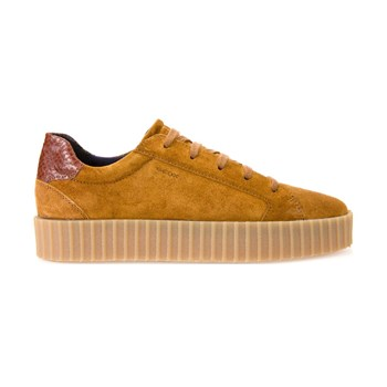 Hidence - Sneakers in pelle - cammello