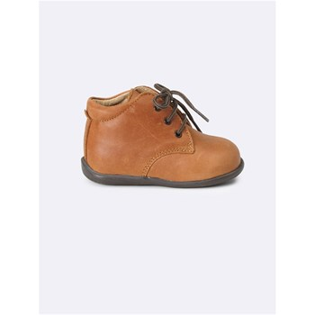 Cyrillus - Bottines en cuir - marron clair