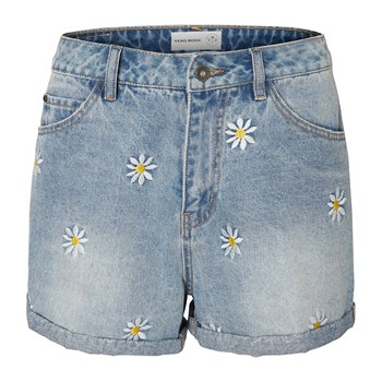 Mineteen - Short vaquero - denim azul