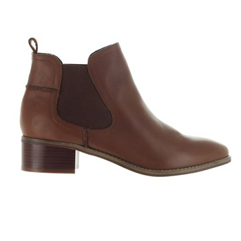 Dicey - Bottines en cuir - marron clair
