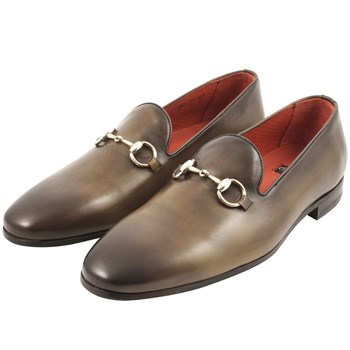 Alec - Mocassins en cuir - marron