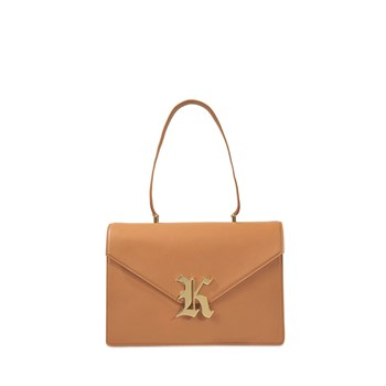 Christopher Kane - Sac à main en cuir - marron