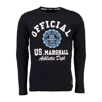 US Marshall - Jofficial - T-shirt manches longues - noir