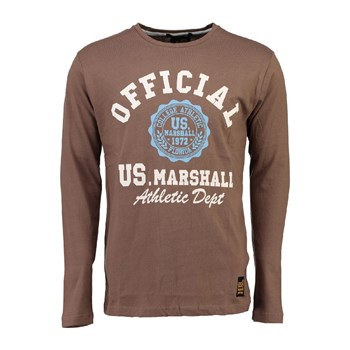 US Marshall - Jofficial - T-shirt manches longues - taupe