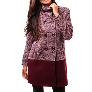Mary - Cappotto casual - bordeaux