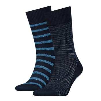 2-er Set Socken - gestreift