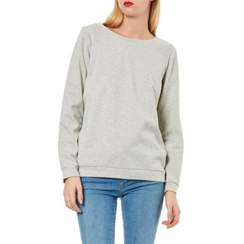 Camaieu - Sweat-shirt basic - gris chine