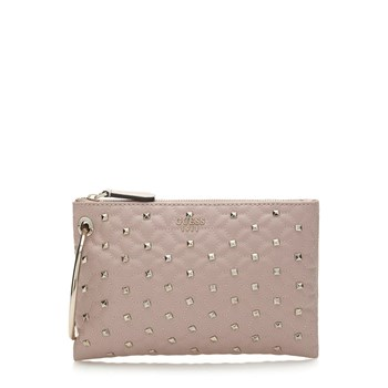 Fall in love - Pochette cloutée - rose