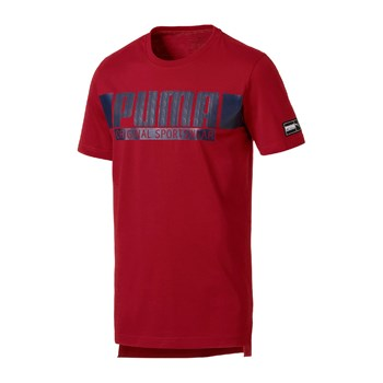 Athletic - T-shirt manches courtes - rouge